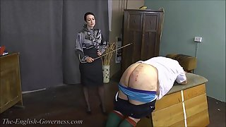 TheEnglishGoverness - Miss Jessica - The Red Discipline Book