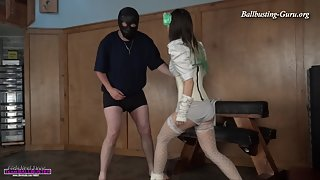Brutal Ballbusting Beatdown with Miss XI 1