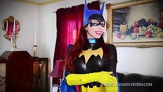 LudellaHahnFetish - Ludella & Monica - The Cats Batty Burglar Batgirl Brainwashed To Be Bad Nude