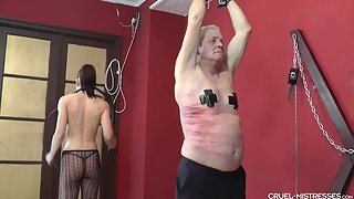 CruelMistresses - Mistress Anette - Long Painful Bullwhip