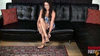 FuckedFeet - Stephanie Moretti - I Was Her First