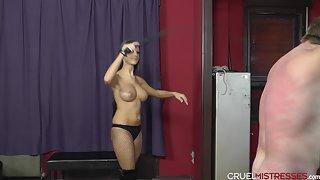 CruelMistresses - Mistress Amanda - Naked guy's bad day