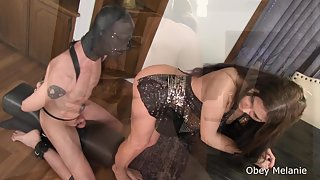 Obey Melanie - A Hard Dick gets the Shaft