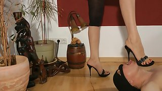 FootGoddessLeyla - Shoe And Foot Slut Part 1