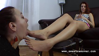 Sweat Remover (Foot Licking,Boot Licking,Feet Worships) 43_02