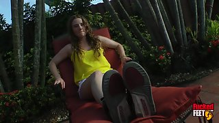 FuckedFeet - Samantha Summers - I'm Good At Footjobs