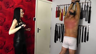 MissJessicaWoodVideos - Whipped against the wall