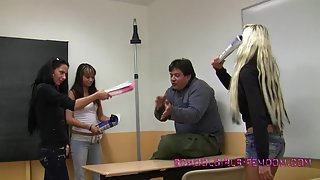 SchoolgirlsFemdom - Grabbing The Sneakers