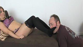 FootdomUnited - StockingSlave - turnerblack