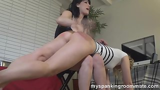 MySpankingRoomate - Kay&Mia - More Spanking With Kay & Mia 2