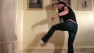 MistressTrish - Kicking Him While He's Down