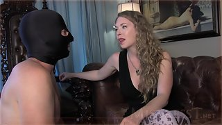 Mistress T - turning straight slave into cock sucking cuck