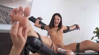 TicklingSubmission - Daniella&Kira - Punished&TickledToOrgasm