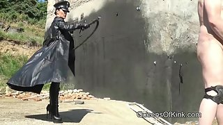 FetishLiza - Heavy Bullwhip Punishment