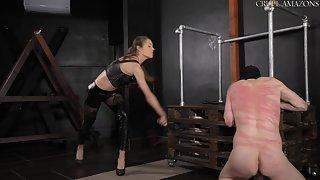 Cruel whipping punishment