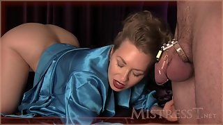 Mistress T - chastity for hubby