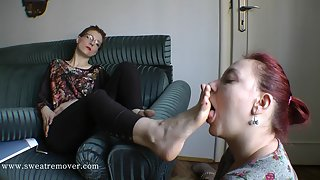 Sweat Remover (Foot Licking,Boot Licking,Feet Worships) 69_03