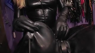 Rubber Sack Tease