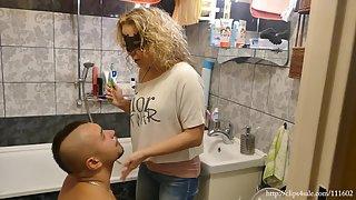 LadyKara - Toothpaste Spitting