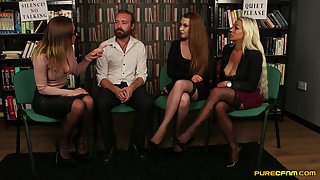 PureCFNM - AshleighDeVere,SamanthaPage&ToryJones - LibraryCommittee