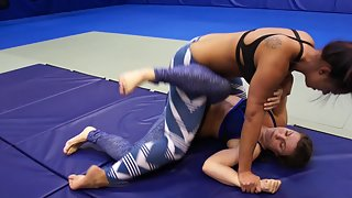 IronPhoenix & Milana - Submission Wrestling