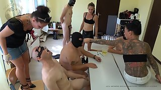 Lady Domi, Miss Jane & Lady Chantal - Dirty vomit and shit session