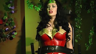 AnastasiaPierce - Wonder Woman Vs Poison Ivy Helpless & Drained Of Life 1