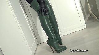 Cum on the Fans Favourite Boots