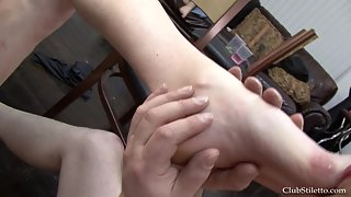 Femdom - MS. Bijou Steal - Party Foot Cleaning Duties 3