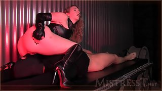 Mistress T - new sex slave tested
