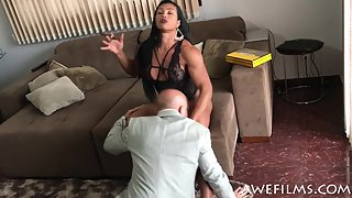 AWEFilms - Alessandra Alvez Lima - Smoking Hot Domination