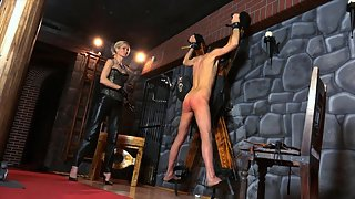 Hard Whipping On The Cross