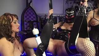 MistressWhiplash - Nikki Whiplash & Mistress Miranda - Slavegirl Fucked and Forced to Cum