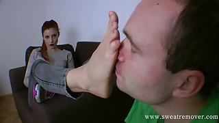 Sweat Remover (Foot Licking,Boot Licking,Feet Worships) 82_02