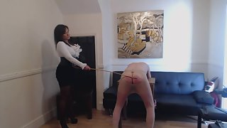 Mistress R'eal - A COLD HARD CANING FROM HEADMISTRESS