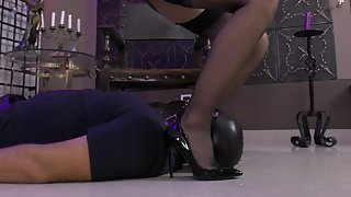 GlamyAnya - Under My Feet Teased & Trampled
