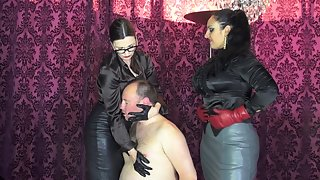 Lady Victoria Valente & Mistress Ezada Sinn - Face Slapping And Humiliation
