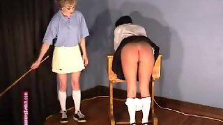 SlaveGirls - The Gym Mistress Is Worse