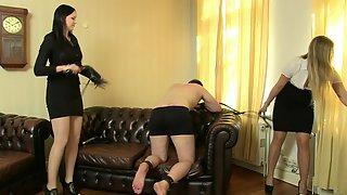 Mistress Stella & Nemesis - Stella743 (Whipping)