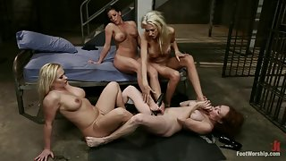Kink - Caged Feet A Women In Prison Footsploitation Film!