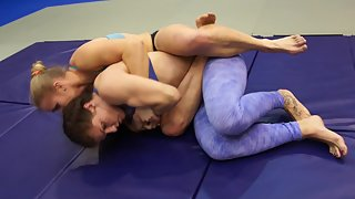 Alkaia & Iron Phoenix - Submission Wrestling