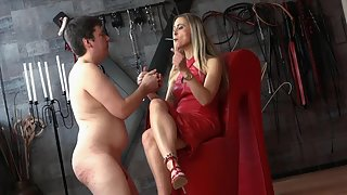 Nipple Torture And Human Ashtray