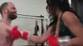 MistressTrish - Beating In A New Punching Bag