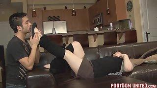 FootdomUnited - StockingSlave - marysweatbare
