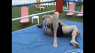 Mixed Wrestling Zone - Lia Lebowe vs Clay