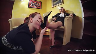 Sweat Remover (Foot Licking,Boot Licking,Feet Worships) 73_02