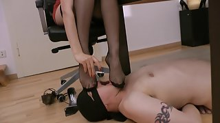 GoddessLeyla - Stocking Foot Stool