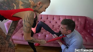 SweetFemdom - Bunny & Leigh - Dad, I Wanna Be A Whore