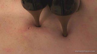 MenAreSlaves - Those High Heels Look Painful