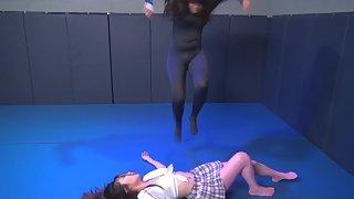 HeroineWrestling - Annie & Kyoko - Asian Smackdown!